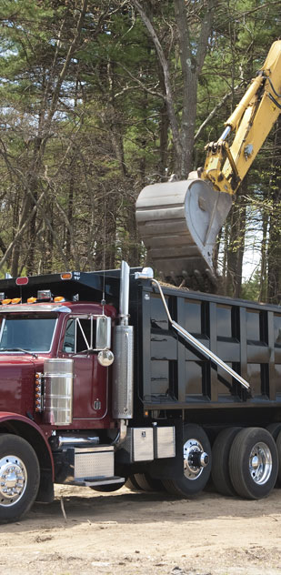 Greenwood Excavating hauling services